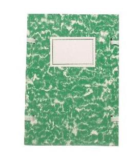 Doska A4 spisová mramor zelený