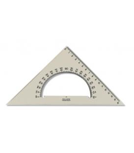Trojuholník 45/177 s uhlomerom dymový, 745 640