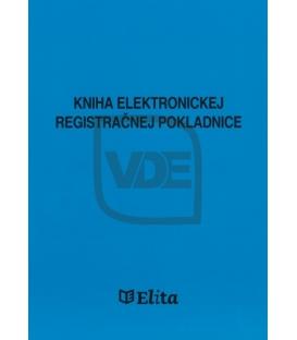 Kniha elektronickej registračnej pokladnice (1465)