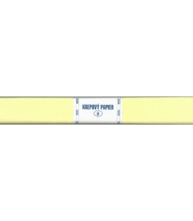Krepový papier žltý svetlý 105