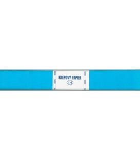 Krepový papier modrý 180