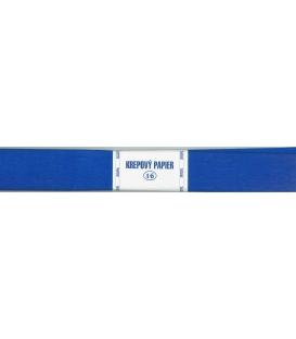 Krepový papier modrý národný 185