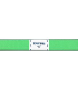 Krepový papier zelený svetlý 190