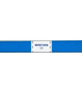 Krepový papier 15 modrý 200 x 50 cm