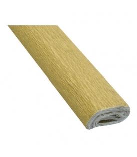 Krepový papier zlatý