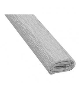 Krepový papier strieborný