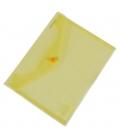 Plastový obal A5 s cvokom - žltý