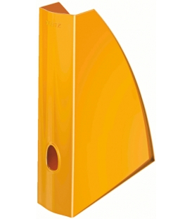 Stojan na časopisy LEITZ WOW metalický oranžový