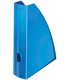 Stojan na časopisy LEITZ WOW metalický modrý