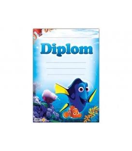 Diplom papierový A4 Hľadá sa Dory