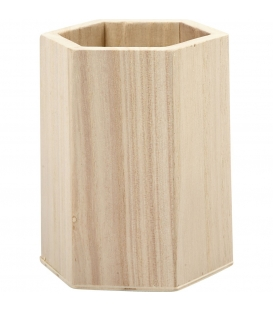 Stojan na perá drevený 1-dielny