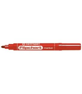 Značkovač flipchart 8550 červený 2,5 mm