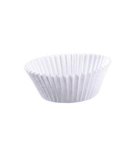 Košíčky na pečenie 50 x 27 mm biele MUFFIN, 1 000 ks