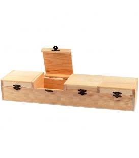 Drevená podlhovastá krabica 47x12x8cm