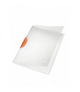 Obal A4 s klipom LEITZ COLOR CLIP MAGIC 41740045 oranžový