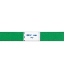 Krepový papier zelený základný 200