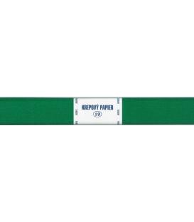 Krepový papier zelený tmavý 205