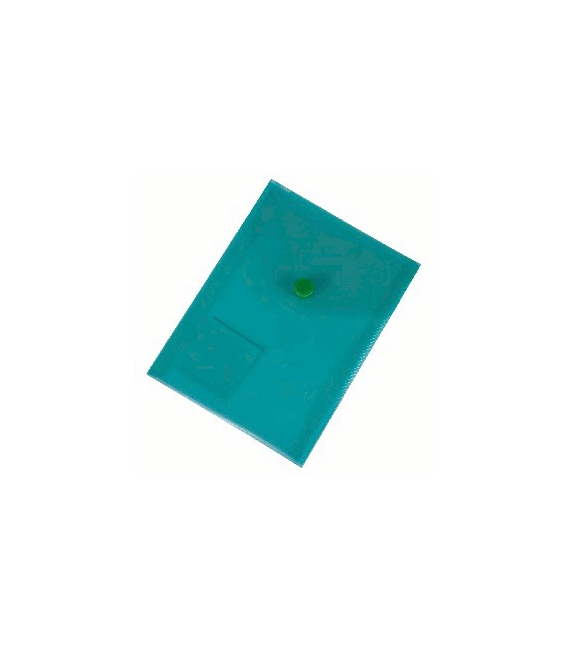 Plastový obal s cvokom A6 zelený
