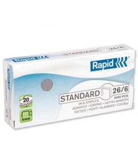 Spinky RAPID Štandard 26/6  24861300, 1.000 ks