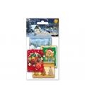 Menovky na darčeky - detský Vianočný motív 10 II