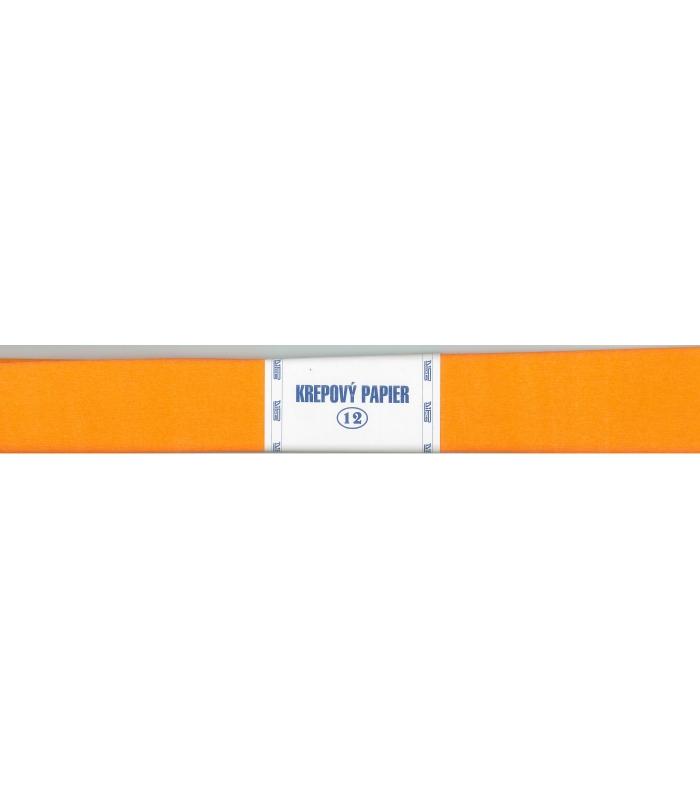 90c811b1ea Krepový papier oranžový tmavý 125