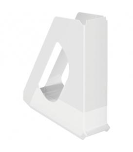 Stojan na časopisy plastový Europost Vivida 623702 biely