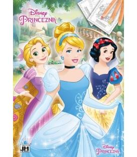 Maľovanka A4 Princezné 3