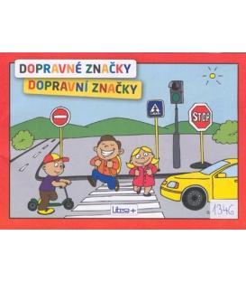 Maľovanka A5 Dopravné značky
