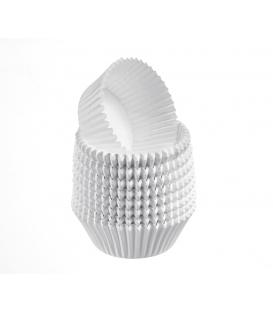 Košíčky na pečenie 35 x 21 mm biele, 1 000 ks