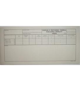 Záznam o prevádzke nákladného vozidla-kópia