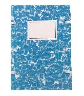 Doska A4 spisová mramor modrý