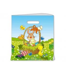 Veľkonocná taška M vzor Zajac