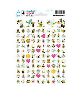 Samolepky mini - včielky
