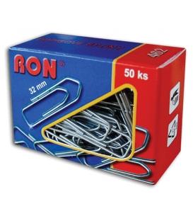 Spony kancelárske 32 mm RON 462, 50 ks