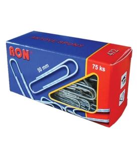 Spony kancelárske 50 mm RON 472, 75 ks