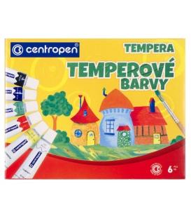 Temperové farby 9550/6,  12 ml