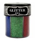 Glitrová dekoračná posýpka, 6 farieb