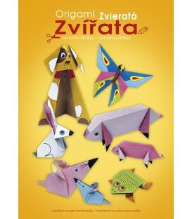 Origami A4 - zvieratá