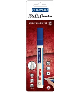 Značkovač 9100 modrý lakový 1,0 - 5,0 mm BL
