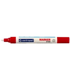 Značkovač 9100 červený lakový 1,0 - 5,0 mm v BL
