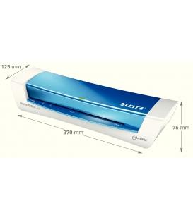 Laminátor teplý iLam A4 Leitz Wow - metalický modrý