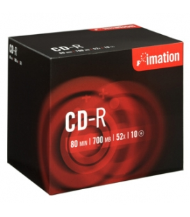 CD-R IMATION 700 MB 52x, 10 ks/BOX