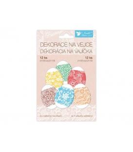 Veľkonočné košielky - fólie na vajíčka 6-farebné 12ks
