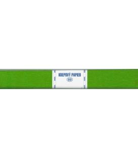 Krepový papier zelený olivový svetlý 193