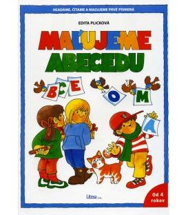 Omaľovanka A4 Maľujeme abecedu