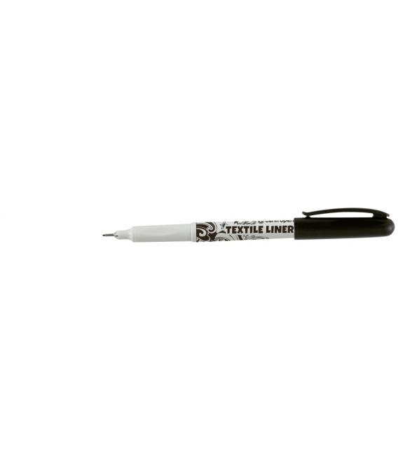 2639 Značkovač na textil čierny 0,6 - 0,8 mm