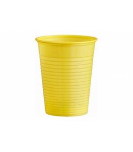 Pohár plastový žltý 180 ml balenie 10 ks
