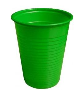 Pohár plastový zelený 180 ml 10 ks balenie