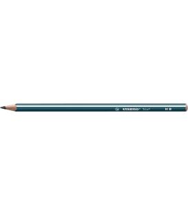 369/HB ceruzka grafitová trojhranná Stabilo Trio petrolejová
