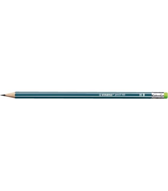 2160/HB ceruzka grafitová šesťhranná 160 Stabilo petrolejová